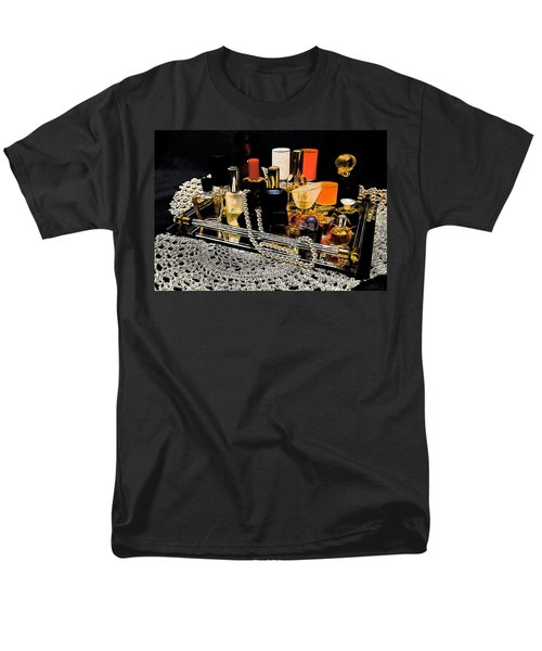 Men's T-Shirt  (Regular Fit) featuring the photograph Scents Of A Woman II by DigiArt Diaries by Vicky B Fuller