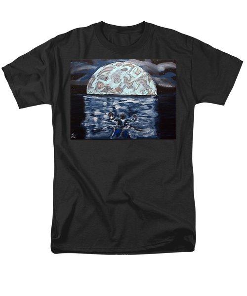 Sea Of Troubles Men's T-Shirt  (Regular Fit) by Lisa Brandel