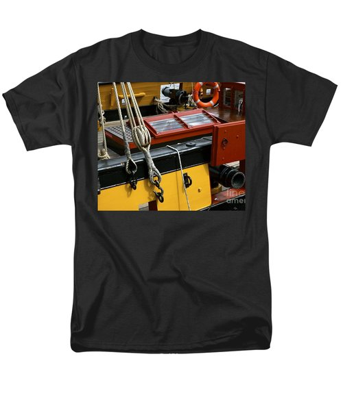 Men's T-Shirt  (Regular Fit) featuring the photograph Sea Worthy by Elf Evans