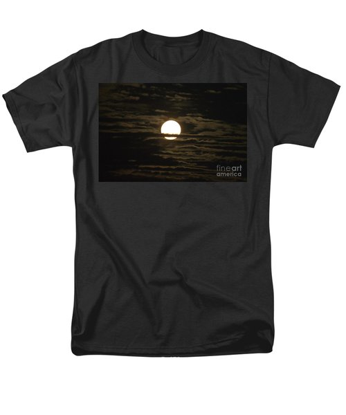 Men's T-Shirt  (Regular Fit) featuring the photograph Seneca Lake Moon by William Norton