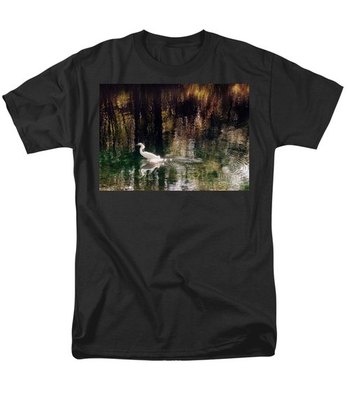 Men's T-Shirt  (Regular Fit) featuring the photograph Shadowwaters by Lydia Holly