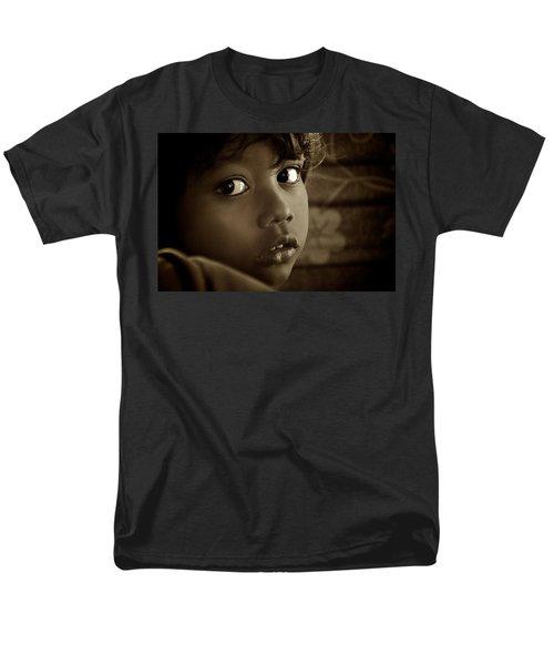 She Just Stared Men's T-Shirt  (Regular Fit) by Valerie Rosen