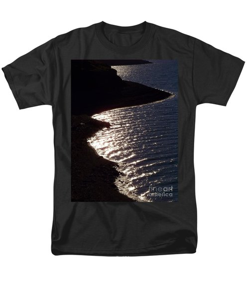 Shining Shoreline Men's T-Shirt  (Regular Fit) by Dorrene BrownButterfield