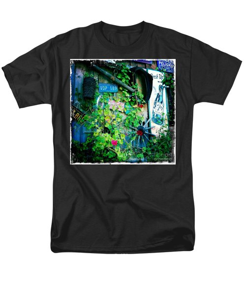 Men's T-Shirt  (Regular Fit) featuring the photograph Sign Wall by Nina Prommer