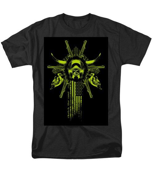 Six Shooter Men's T-Shirt  (Regular Fit) by Tony Koehl