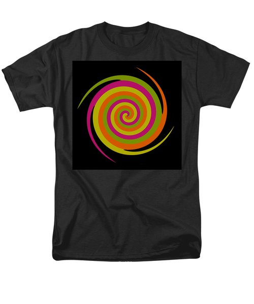 Men's T-Shirt  (Regular Fit) featuring the photograph Six Squared With A Twirl by Steve Purnell