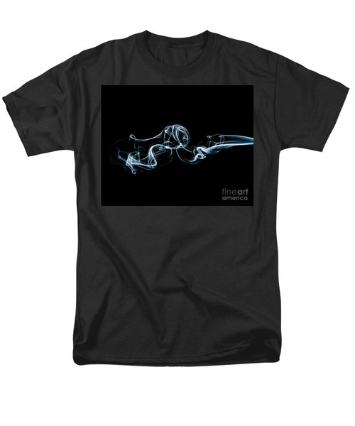 Men's T-Shirt  (Regular Fit) featuring the photograph Smoke-3 by Larry Carr