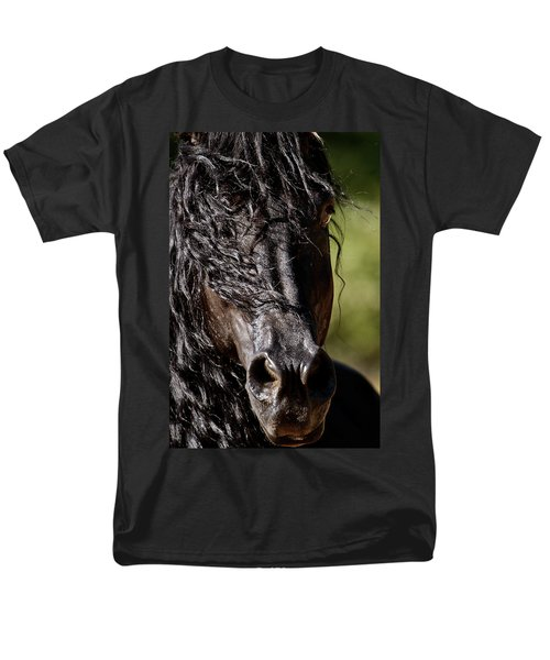 Snorting Good Looks Men's T-Shirt  (Regular Fit) by Wes and Dotty Weber