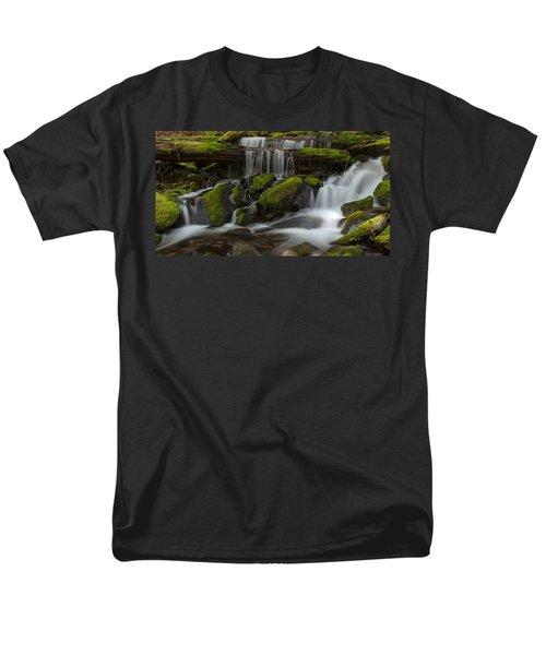 Sol Duc Stream Men's T-Shirt  (Regular Fit) by Mike Reid