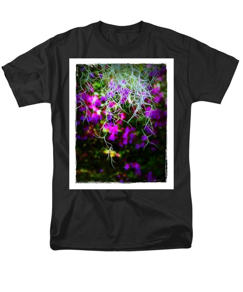 Spanish Moss And Azaleas Men's T-Shirt  (Regular Fit) by Judi Bagwell
