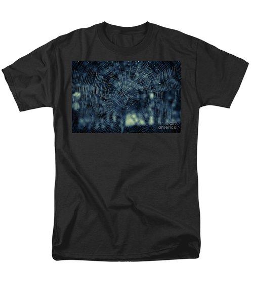 Men's T-Shirt  (Regular Fit) featuring the photograph Spider Web by Matt Malloy