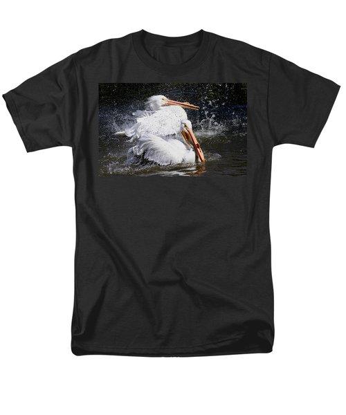 Men's T-Shirt  (Regular Fit) featuring the photograph Splish Splash by Elizabeth Winter