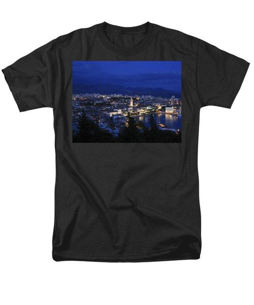 Men's T-Shirt  (Regular Fit) featuring the photograph Split Croatia by David Gleeson