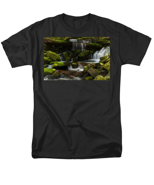 Spotlights Men's T-Shirt  (Regular Fit) by Mike Reid