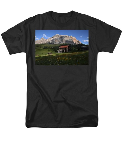 Men's T-Shirt  (Regular Fit) featuring the photograph Spring At Santa Croce by Susan Rovira