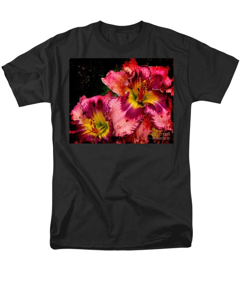 Men's T-Shirt  (Regular Fit) featuring the photograph Spring Blooms by Davandra Cribbie