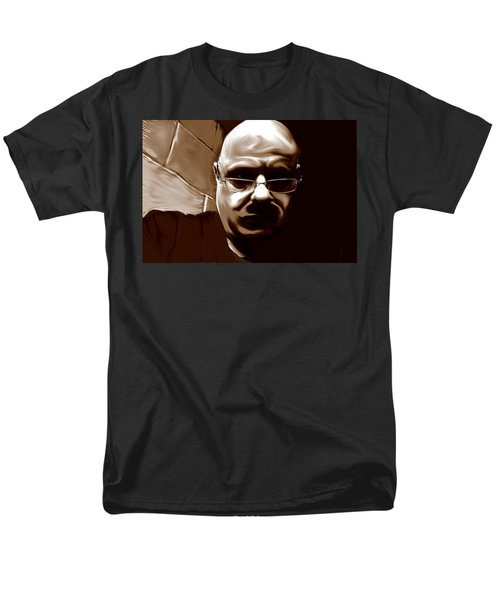 Men's T-Shirt  (Regular Fit) featuring the mixed media Stalker IIi  by Terence Morrissey