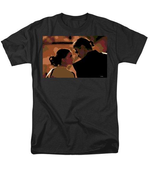 Star Crossed Lovers Men's T-Shirt  (Regular Fit) by George Pedro