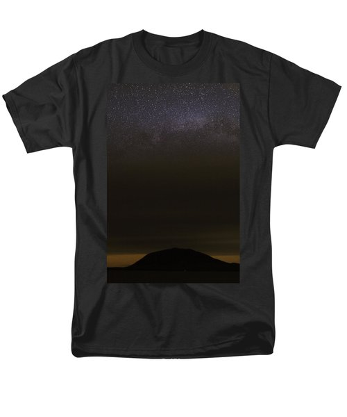 Men's T-Shirt  (Regular Fit) featuring the photograph Stars Over Little Spencer by Brent L Ander
