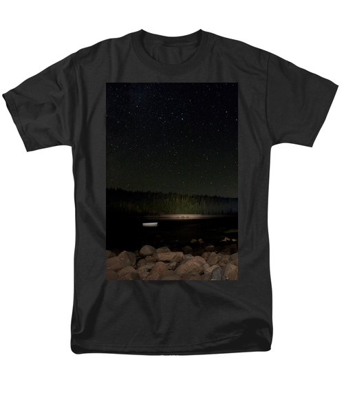 Men's T-Shirt  (Regular Fit) featuring the photograph Stars Over Otter Cove by Brent L Ander