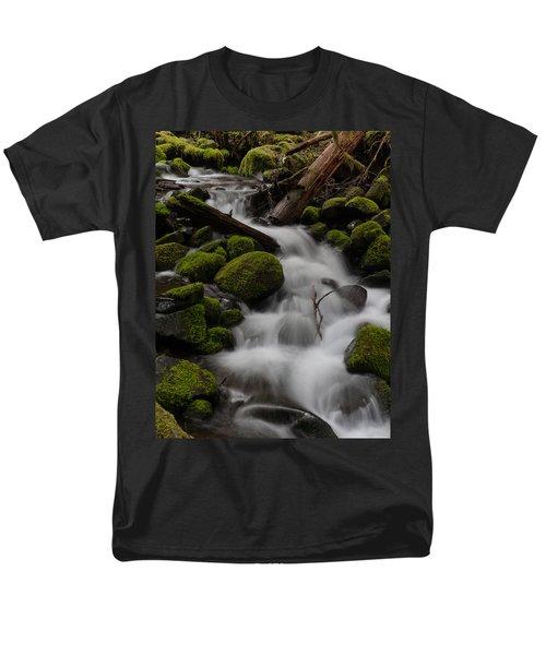 Stepping Stones Men's T-Shirt  (Regular Fit) by Mike Reid