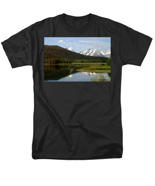 Men's T-Shirt  (Regular Fit) featuring the photograph Still Waters by Living Color Photography Lorraine Lynch