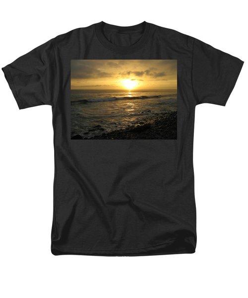Storm At Sea Men's T-Shirt  (Regular Fit) by Bruce Carpenter