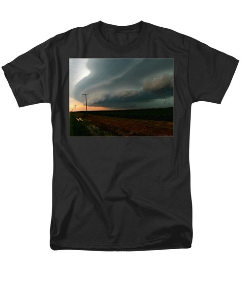 Men's T-Shirt  (Regular Fit) featuring the photograph Storm Front by Debbie Portwood