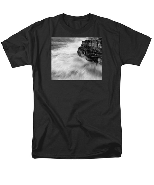 Men's T-Shirt  (Regular Fit) featuring the photograph Stormy Sea 1 by Pedro Cardona