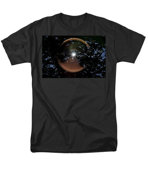 Men's T-Shirt  (Regular Fit) featuring the photograph Sun Flair by Maj Seda