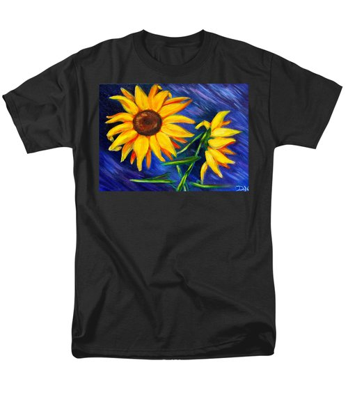 Sunflowers Men's T-Shirt  (Regular Fit) by Diana Haronis