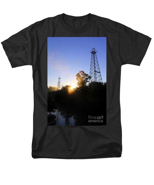 Sunrise On The Sabine Men's T-Shirt  (Regular Fit)