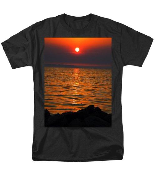 Men's T-Shirt  (Regular Fit) featuring the photograph Sunset by Colette V Hera  Guggenheim