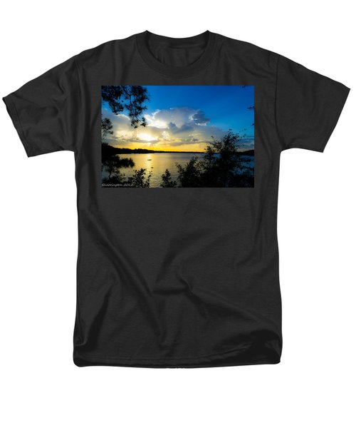 Sunset Fishing Men's T-Shirt  (Regular Fit) by Shannon Harrington
