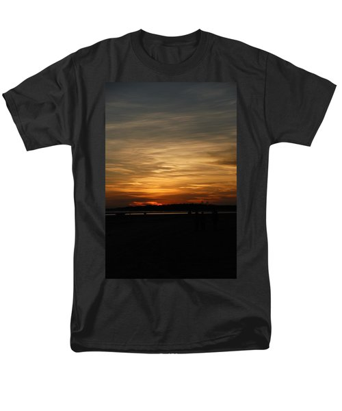 Men's T-Shirt  (Regular Fit) featuring the photograph Sunset In Pastels by Fotosas Photography