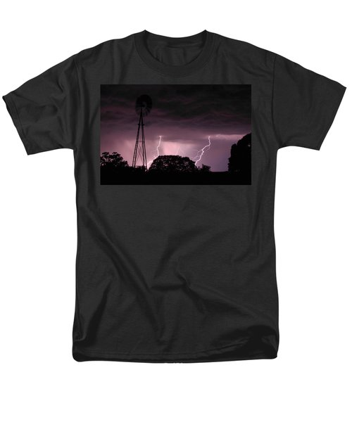 Super Storm Men's T-Shirt  (Regular Fit) by Linda Unger