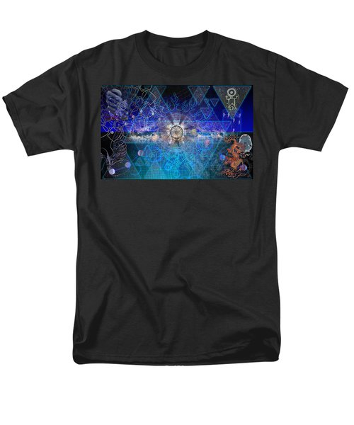 Synesthetic Dreamscape Men's T-Shirt  (Regular Fit)