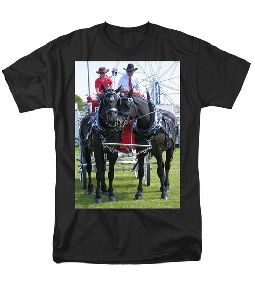 Men's T-Shirt  (Regular Fit) featuring the photograph Tender Moment by Davandra Cribbie