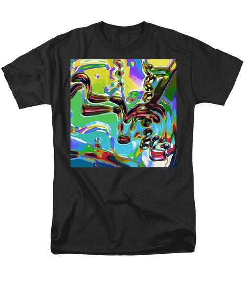 Men's T-Shirt  (Regular Fit) featuring the digital art The Bull Fighter by Alec Drake