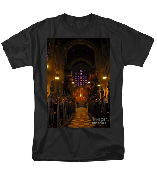 The Chapel At Valley Forge Park Men's T-Shirt  (Regular Fit) by Cindy Manero