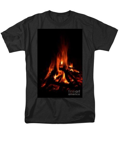 The Fire Men's T-Shirt  (Regular Fit) by Donna Greene