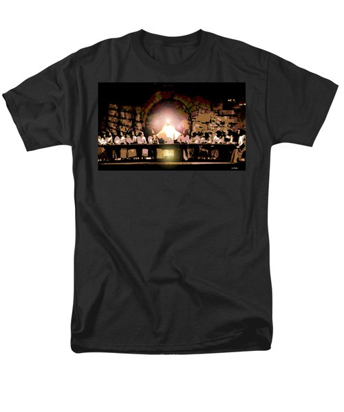 the Last Supper Men's T-Shirt  (Regular Fit) by George Pedro