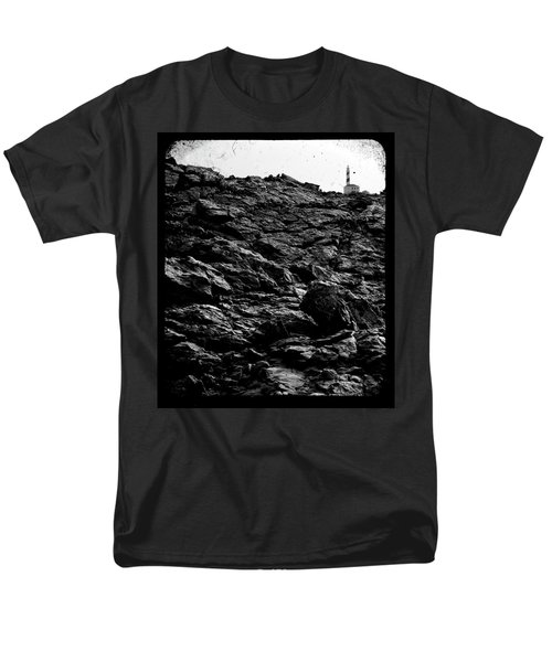 Men's T-Shirt  (Regular Fit) featuring the photograph The Lighthouse1 by Pedro Cardona