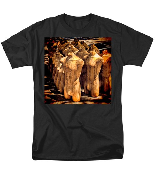 Men's T-Shirt  (Regular Fit) featuring the photograph The Protest by Chris Lord