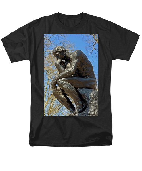 The Thinker By Rodin Men's T-Shirt  (Regular Fit) by Lisa Phillips