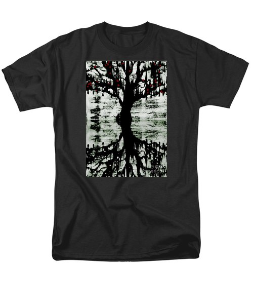 The Tree The Root Men's T-Shirt  (Regular Fit) by Amy Sorrell