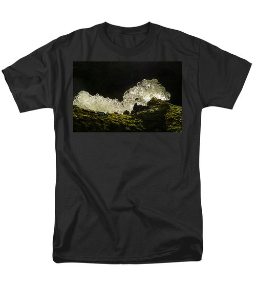 Men's T-Shirt  (Regular Fit) featuring the photograph This Is A Very Hungry Cold Caterpillar  by Steve Taylor