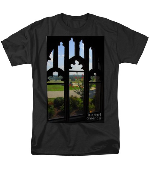Through The Chapel Arches Men's T-Shirt  (Regular Fit) by Cindy Manero