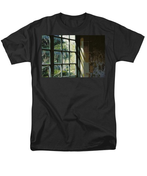 Men's T-Shirt  (Regular Fit) featuring the photograph View Through The Window by Marilyn Wilson
