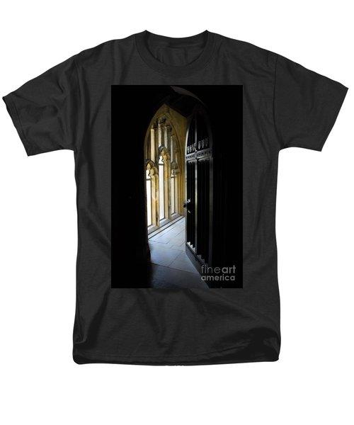 Thru The Chapel Door Men's T-Shirt  (Regular Fit) by Cindy Manero